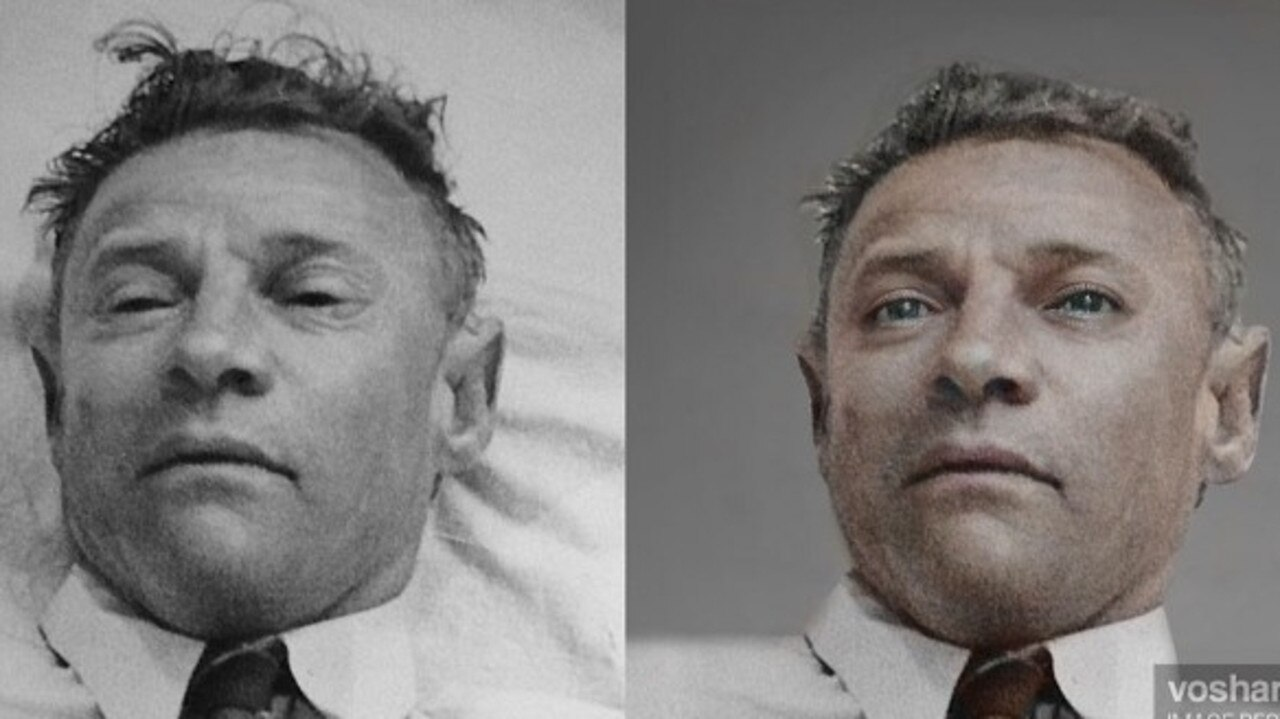 New images of one of an enduring mysteries, the unknown Somerton Man, have been developed with AI in a bid to create his true face and finally identify him.