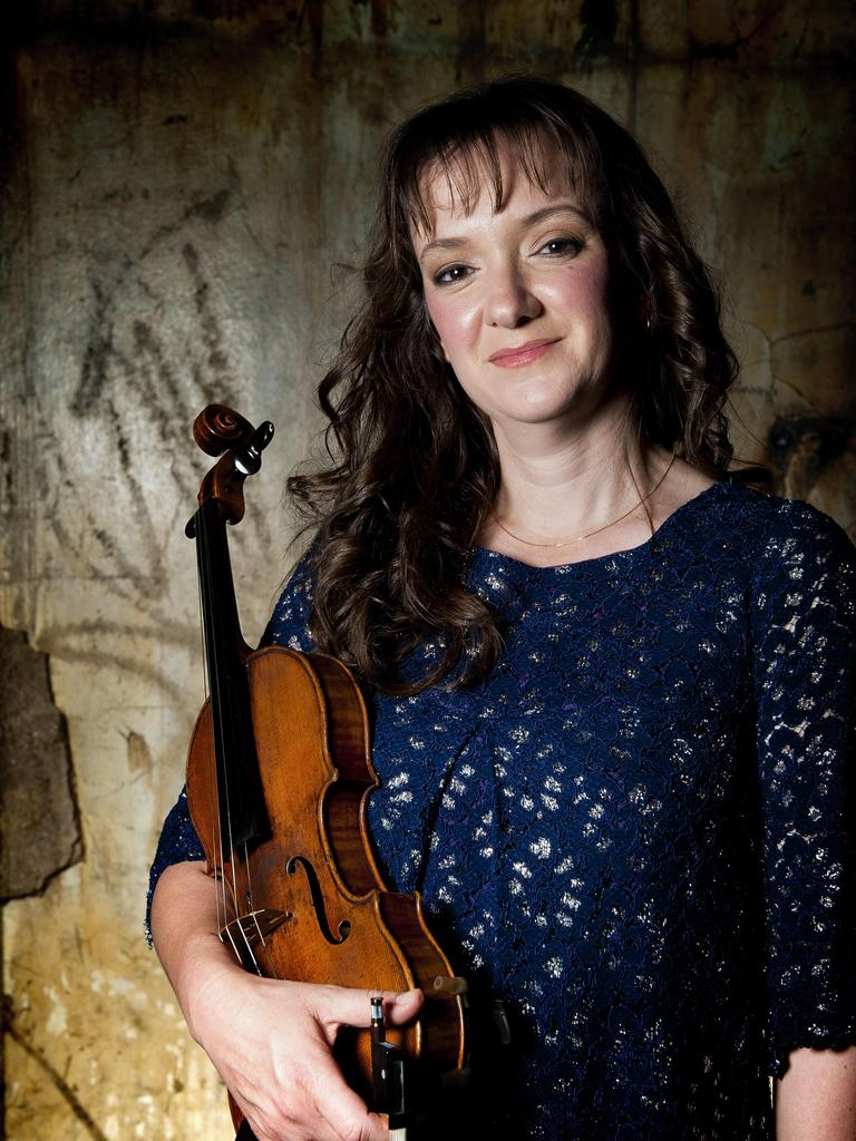 BUILDING RESILIENCE: Violinist and creative director of Topology Christa Powell said it was exciting to be bringing the tour to regional Queensland communities.