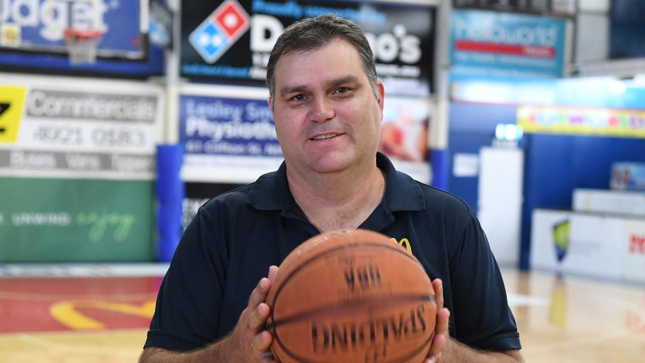Rockhampton Basketball general manager Wade Rebetzke