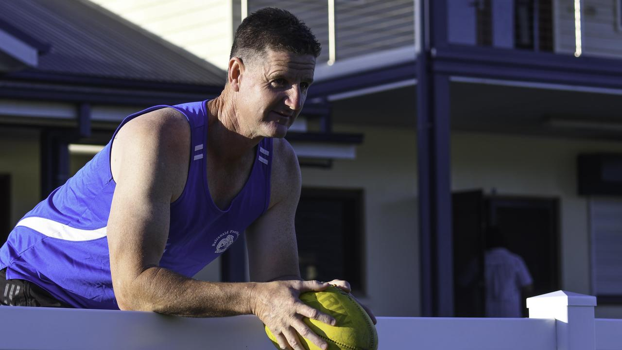 AGELESS: Grafton Tigers Lee Anderson focused on winning his second grand final against Sawtell-Toormina Saints on Saturday. It was eight-years ago when Anderson was voted best on ground in the decider. Photo Gary Nichols