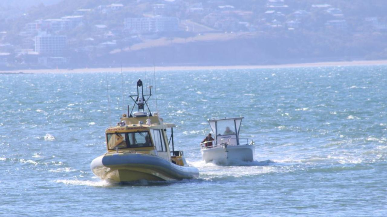 Yeppoon Coast Guard performs a rescue operation.