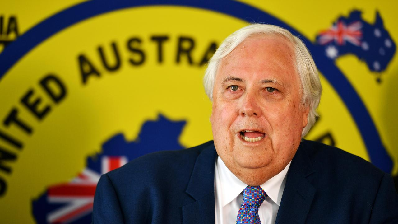 Clive Palmer has called on the state government to help Queensland Nickel get access to the Port of Townsville. Picture: Alix Sweeney