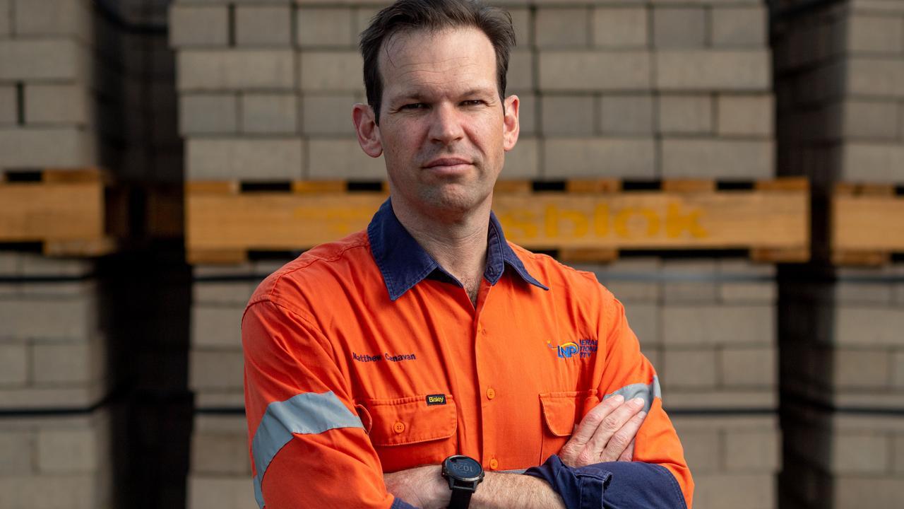 Queensland LNP Senator Matt Canavan. Picture: Che Chorley