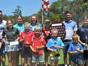 Former CQ player takes out major golf competition
