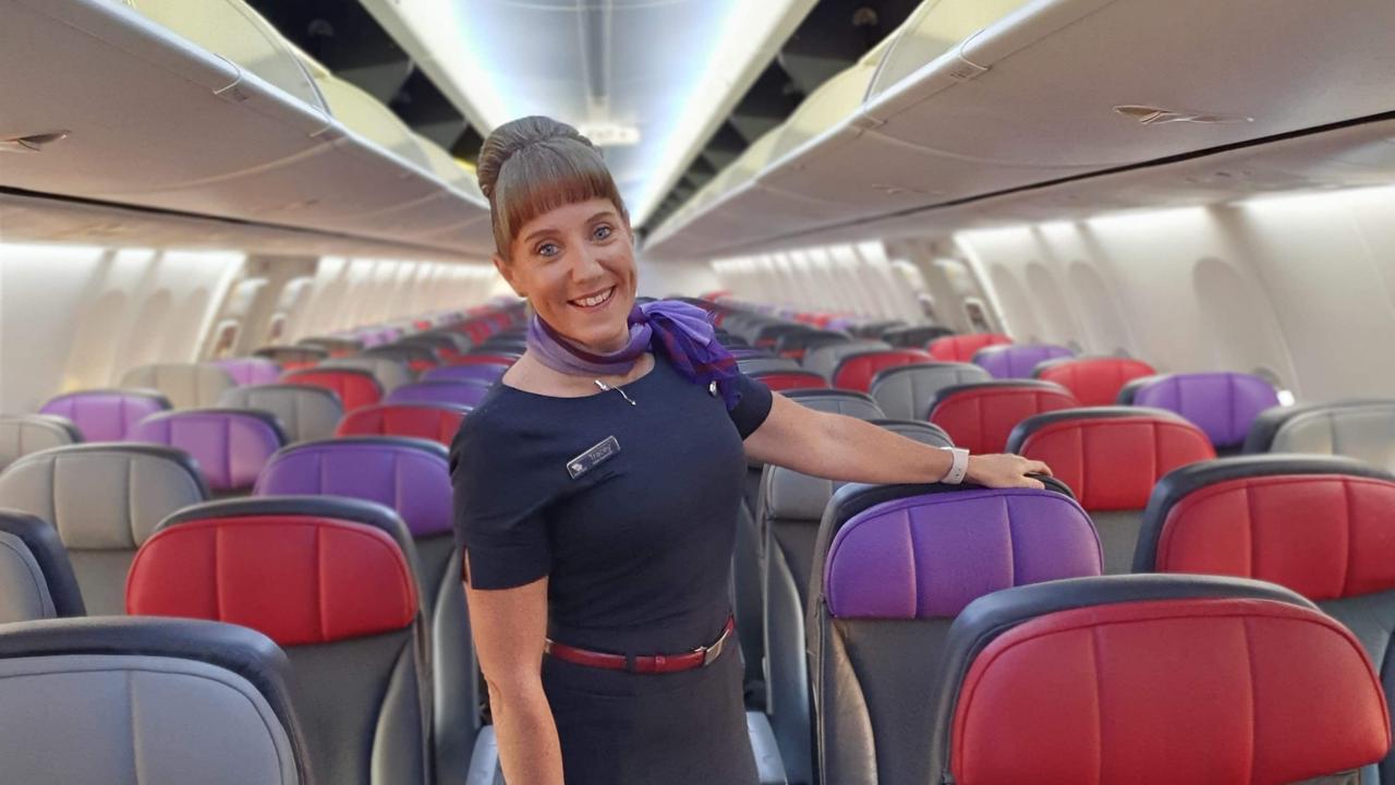 Virgin Australia cabin supervisor Tracey Fitzgerald
