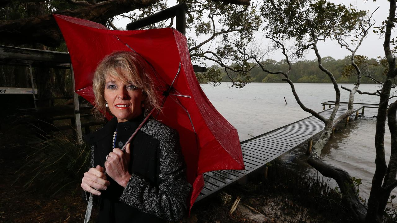 Jennifer Marohasy claims statistics show Australia is getting wetter.