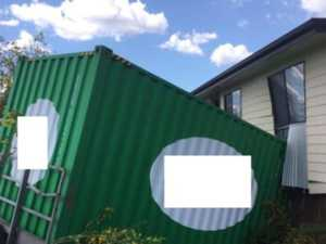 Runaway trailer smashes into South Burnett home