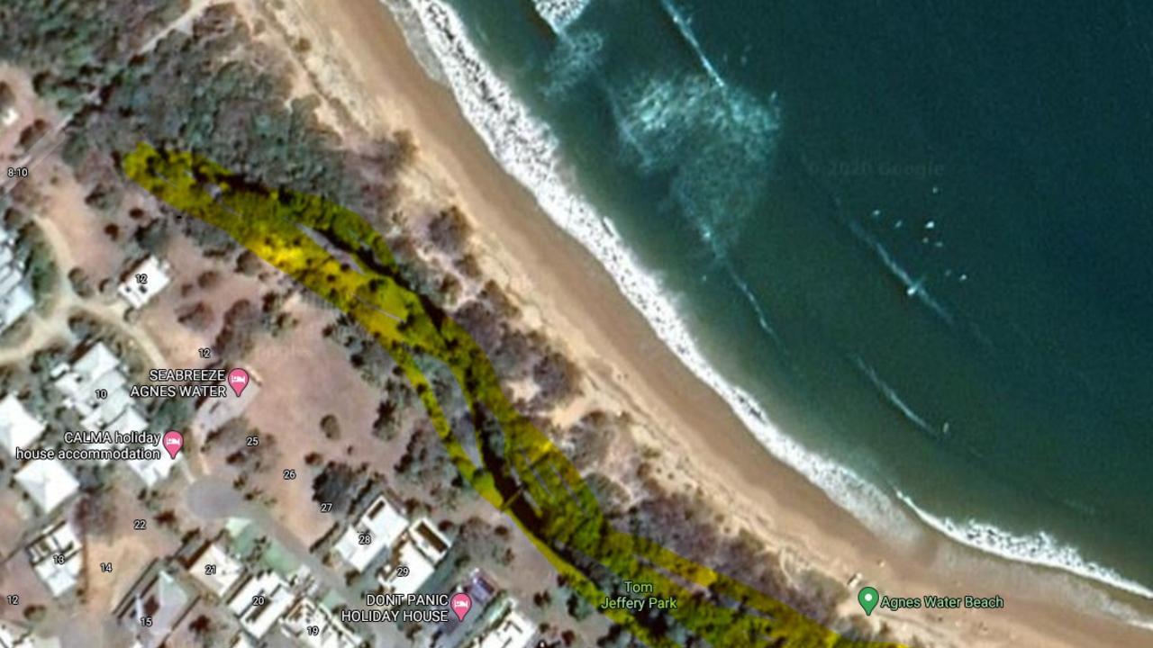 Gladstone Region Mayor Matt Burnett said Trility has never extracted water from Agnes Creek at Agnes Water main beach.