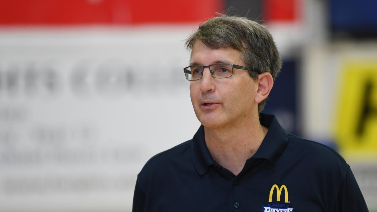 Rockets coach Neal Tweedy.