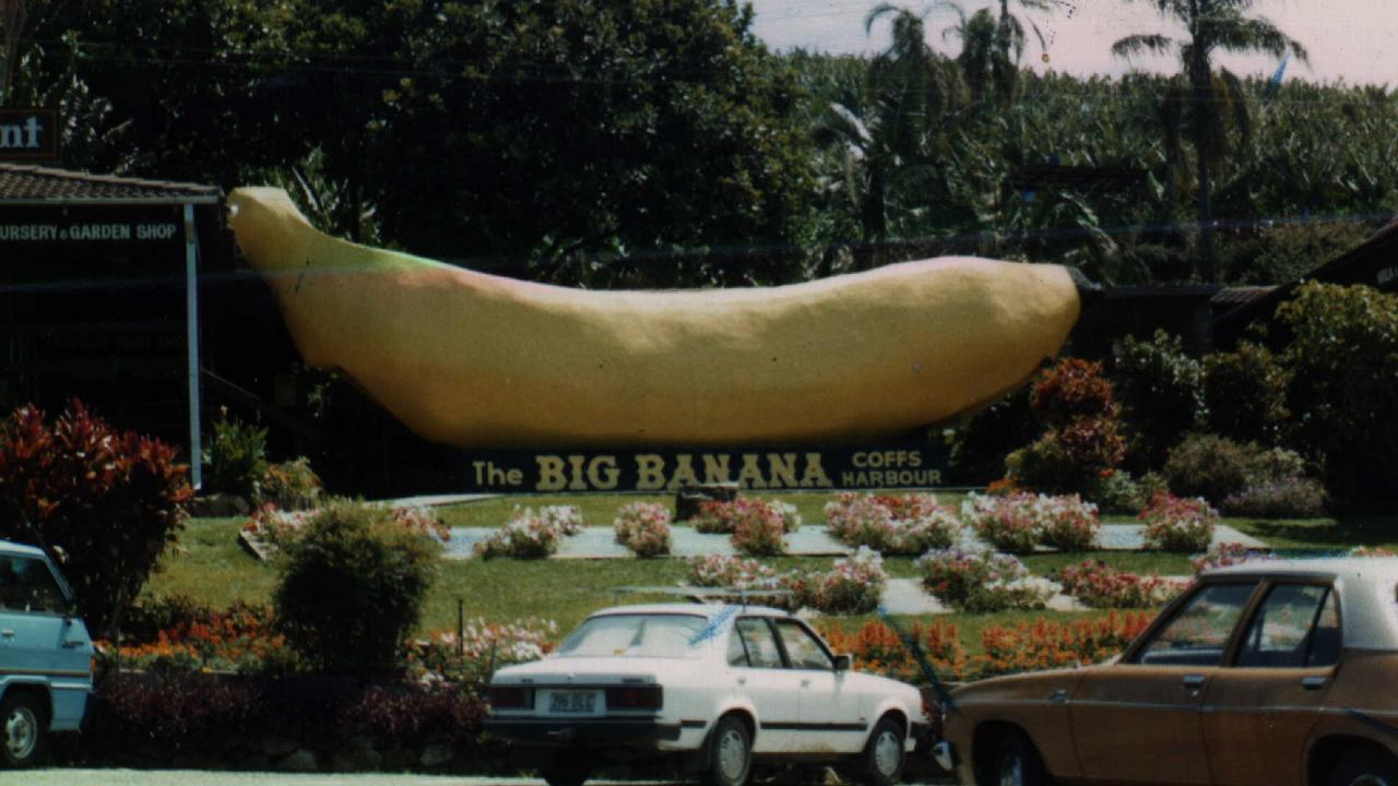 The Big Banana in its 80s phase.