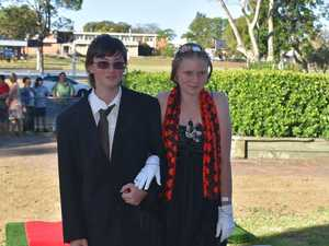 Students of Maryborough State High School celebrate formal