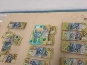 $75k cash, gun, boat and drugs seized in police raid