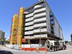 $18M Brisbane Rd car park nears finish line