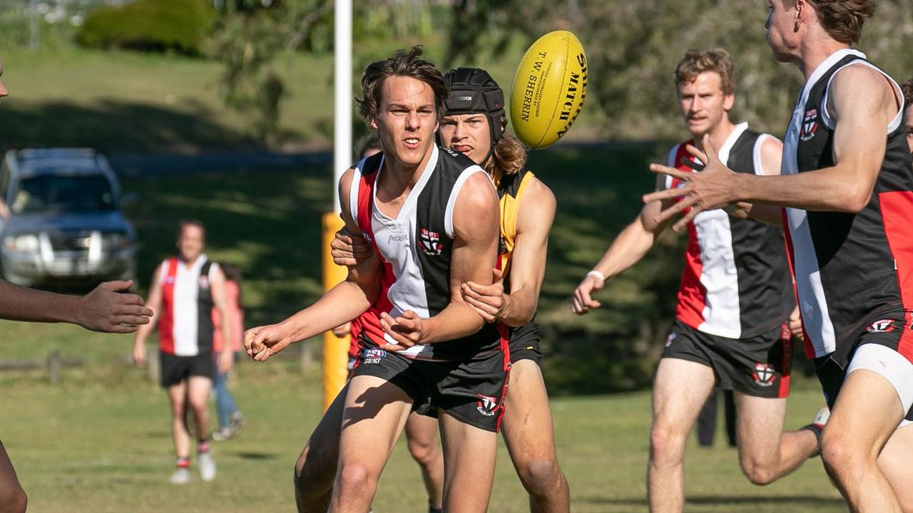 Grafton Tigers face Sawtell Toormina Saints in the AFLNC Grand Final on Satruday. Photo: Jo Acton