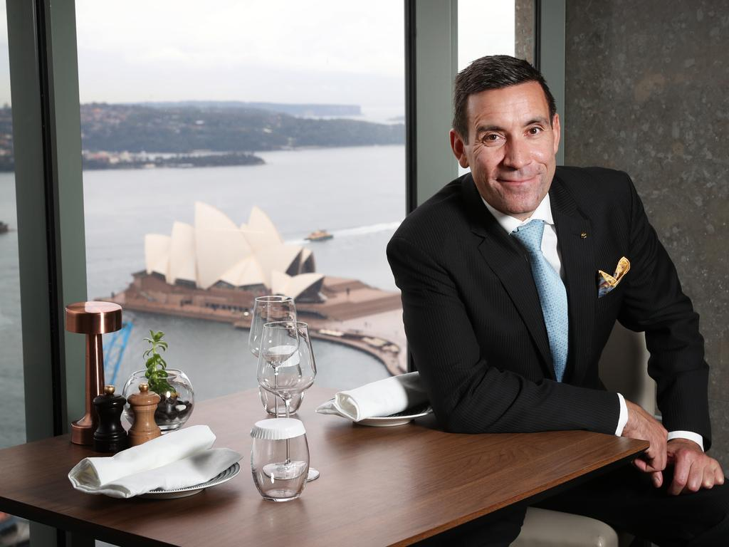 Shangri-La Sydney General Manager Philippe Kronberg says the New Year's Eve period is traditionally the busiest time of the year for the hotel. Picture: Richard Dobson