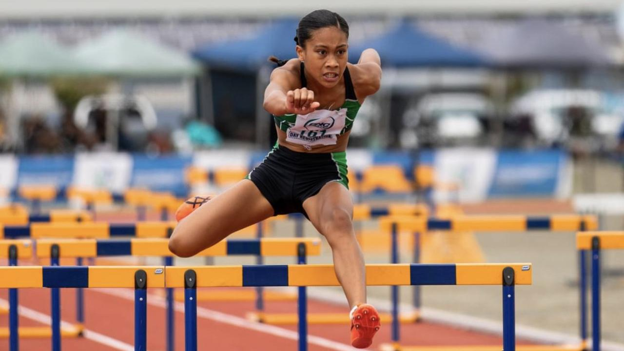 Ipswich and District Athletic Club competitor Catherine Tamate won four medals, including in the hurdles, at the latest North Queensland championships in Mackay.