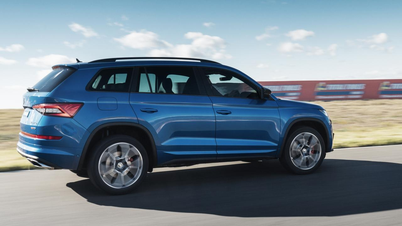 Starting from $71,990 in your driveway, the Skoda Kodiaq RS offers seven seats and a range of sporty extras.
