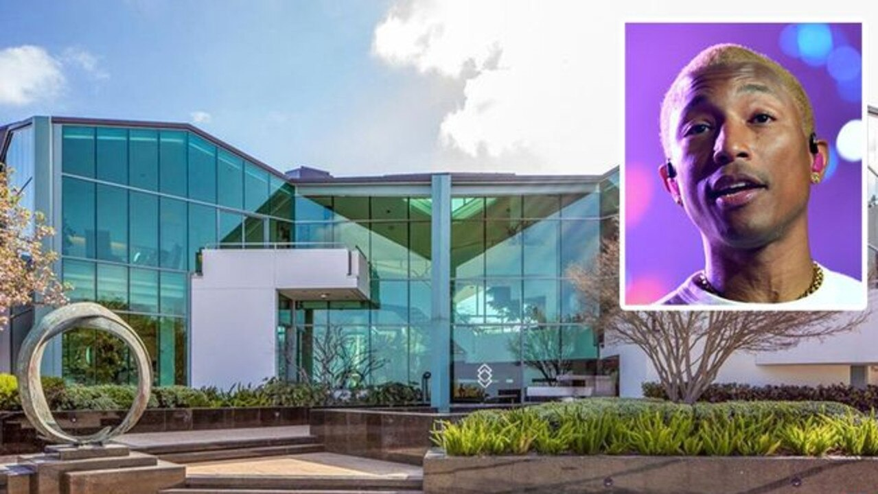 A look at Pharrell Williams Beverly Hills home he has just sold. Picture: Realtor