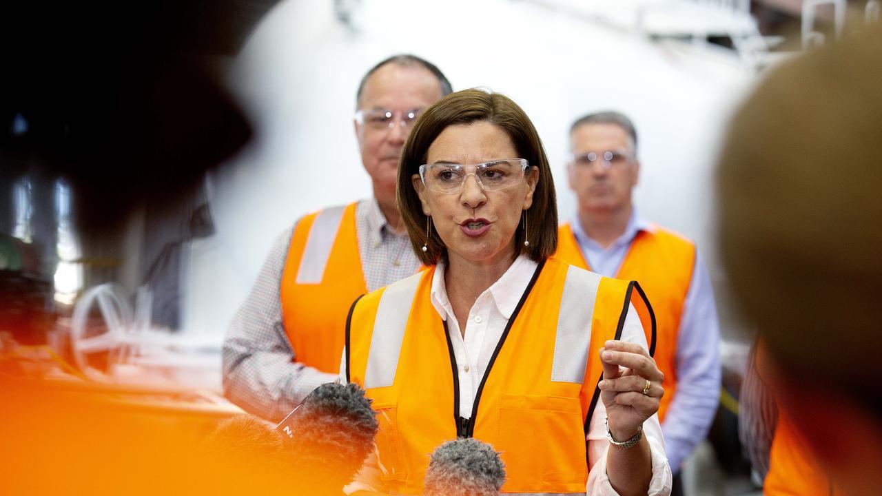 Queensland LNP Leader Deb Frecklington. Picture: NCA NewsWire / Sarah Marshall