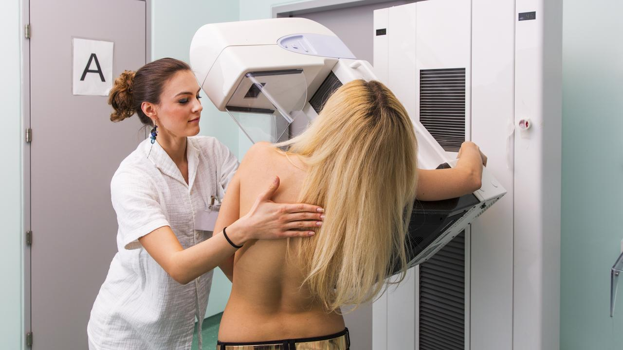 Mammograms plummeted during COVID-19. Picture: iStock