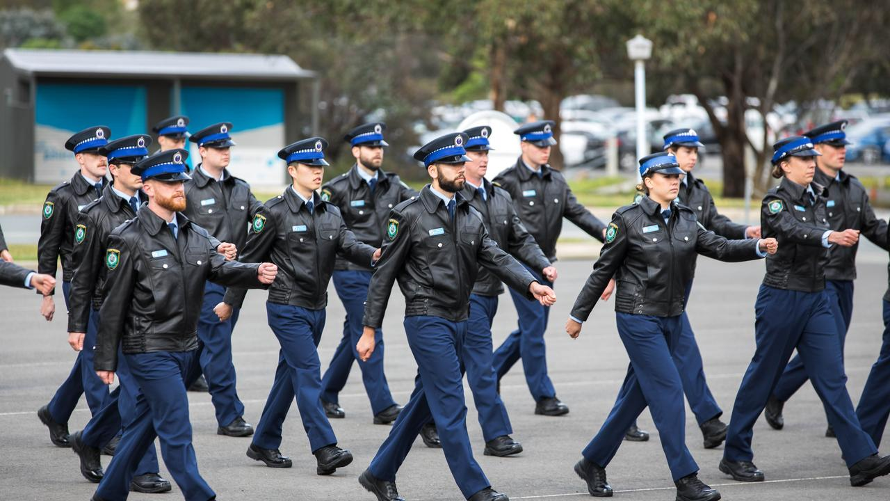 192 police recruits attested at Goulburn Police Academy today