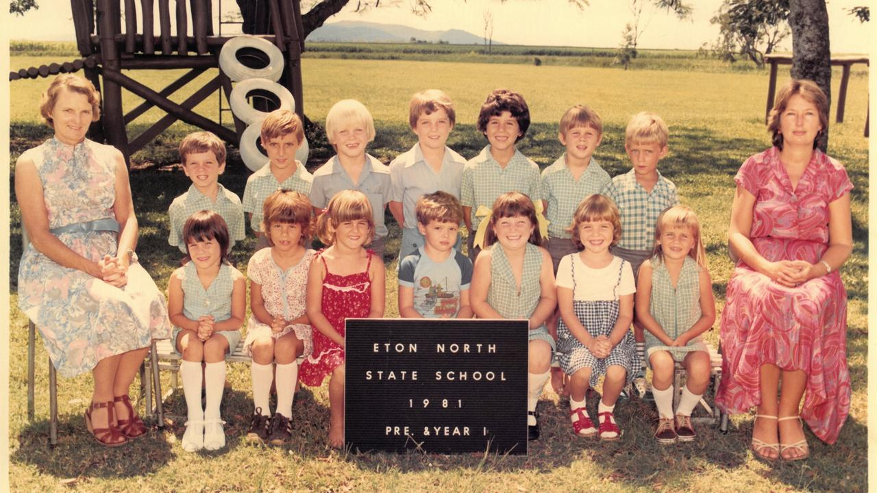 Eton North State School class of 1981. Picture: Contributed