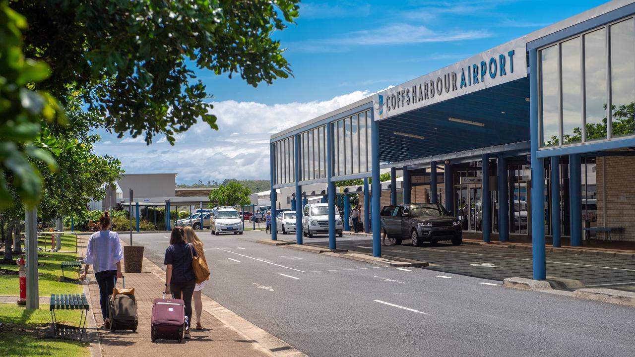 Coffs Harbour Airport. Photo: Trevor Veale