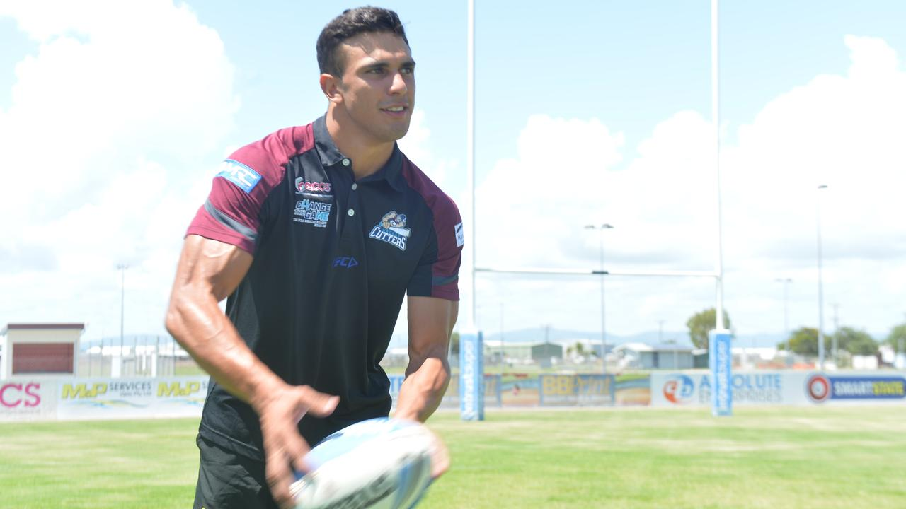 Elijah Anderson played just one game for the Mackay Cutters before the 2020 Intrust Super Cup season was cancelled due to COVID-19.