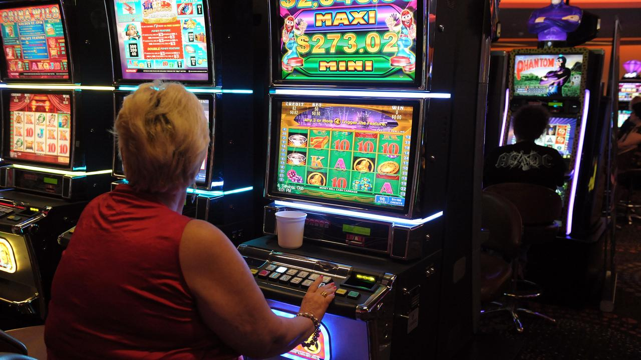 Gympie people have lost a lot more at the pokies this year than last year.