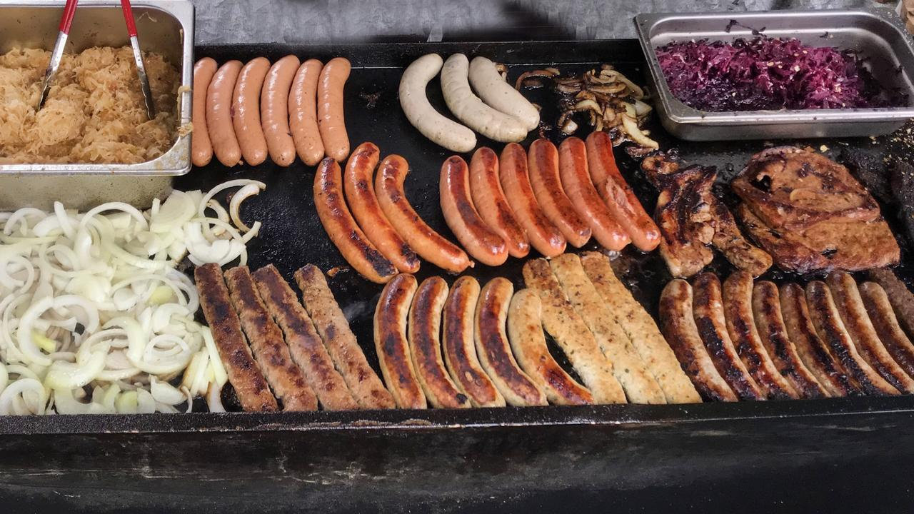 There's nothing like a snag on the barbie and while Bunnings does a great trade, top quality free-range Wurst German sausages also draw people in droves.