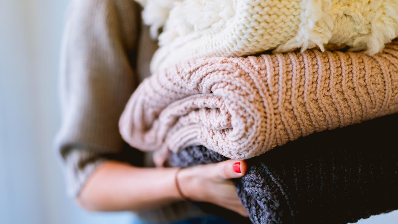 How to store your winter wear matters, writes Jacinta Emms. Picture: Dan Gold/ Unsplash