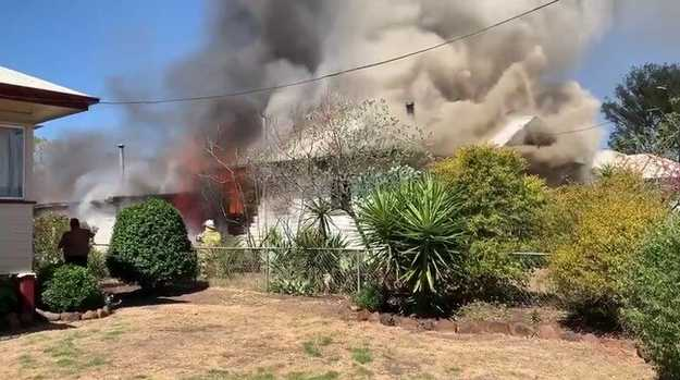 Family home destroyed by fire in Dalby