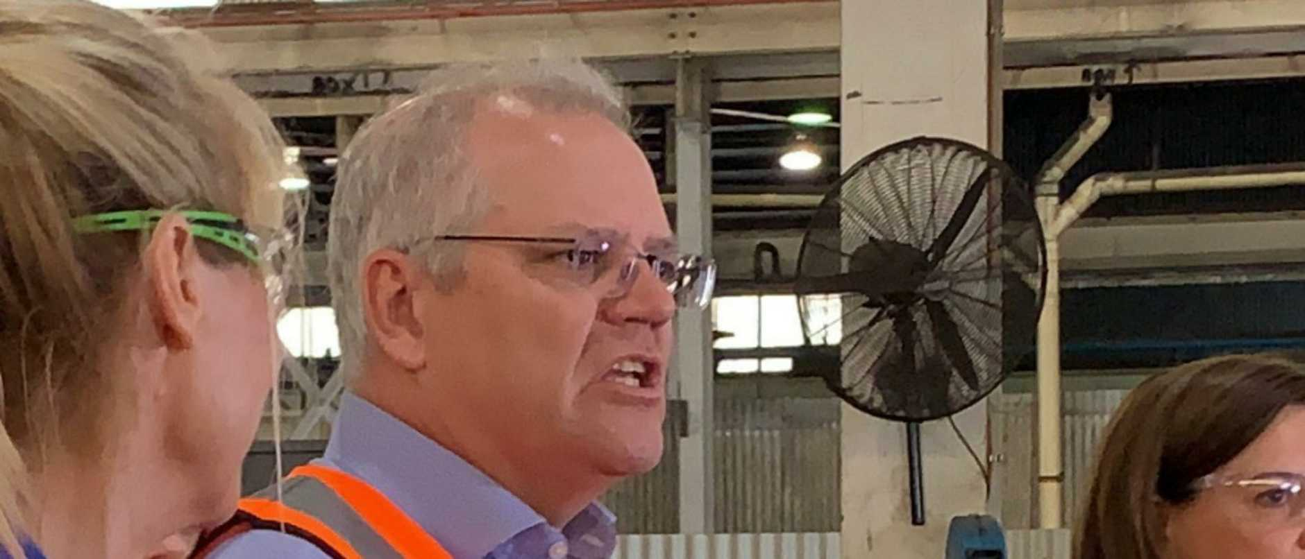 Prime Minister Scott Morrison has shared his thoughts on the Queensland border closure during a visit to the Gold Coast.