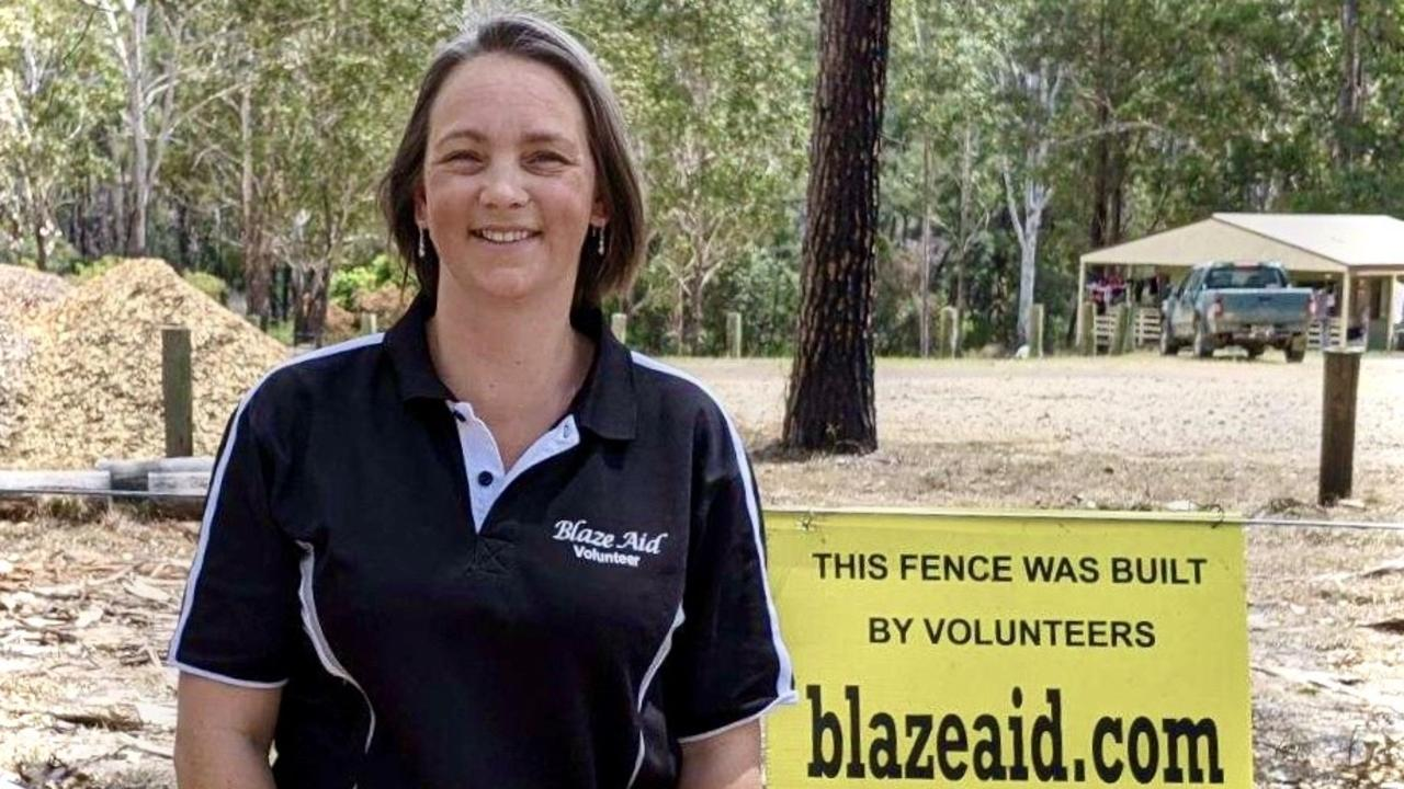 Blaze Aid Nymboida co-ordinator Joanne Baker has made many lifelong friends while helping the community get back on its feet.