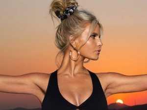 Jessica Simpson promotes activewear line