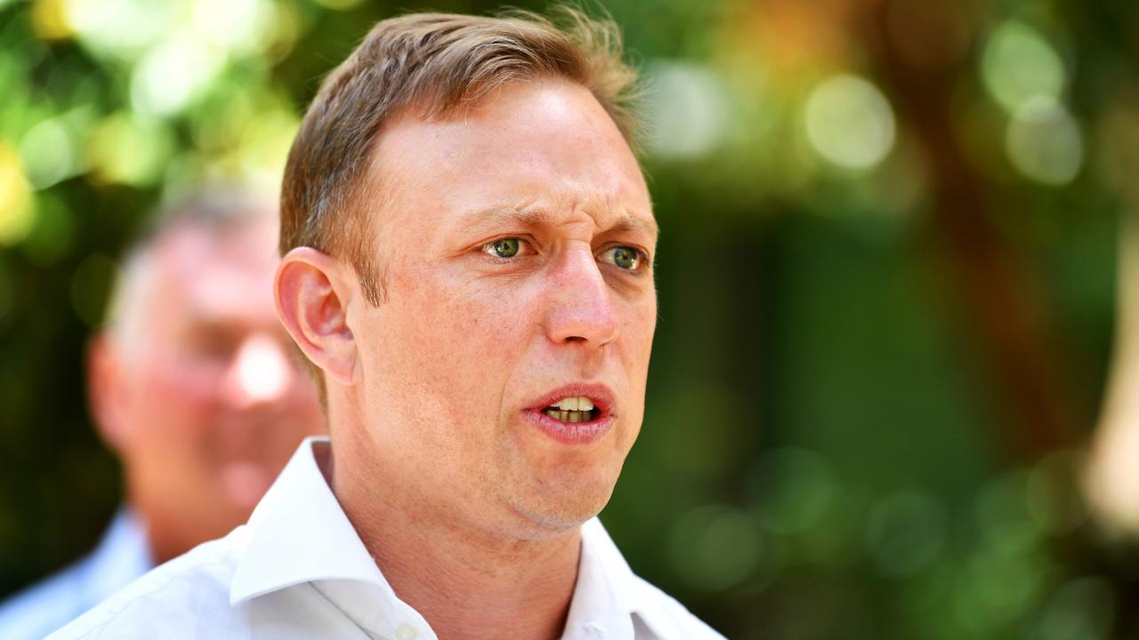 Queensland Deputy Premier Steven Miles. Picture: Alix Sweeney