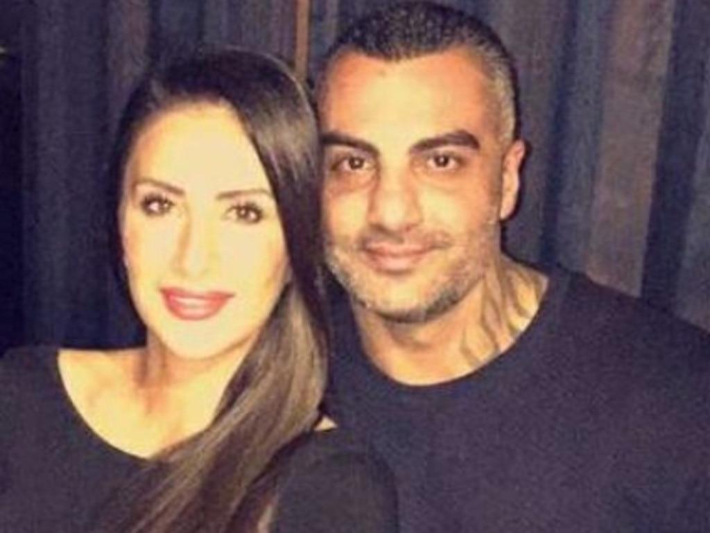 Hawi with his wife Carolina Gonzalez.