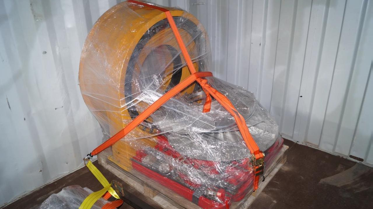 Two men have been charged with smuggling more than 11kg of cocaine from South America in an unusual item.