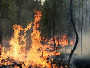 BREAKING: Fireys battle bushfire at Burua