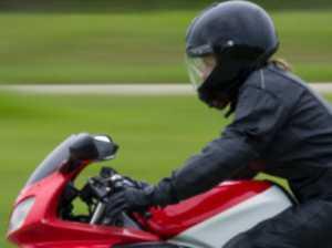 Motorbike rider thrown over handlebar in Byfield accident