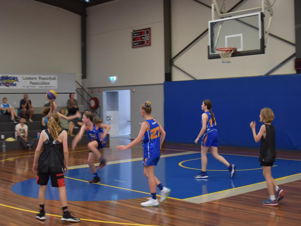 Shots from the Lismore 3x3 basketball tournament on Saturday.