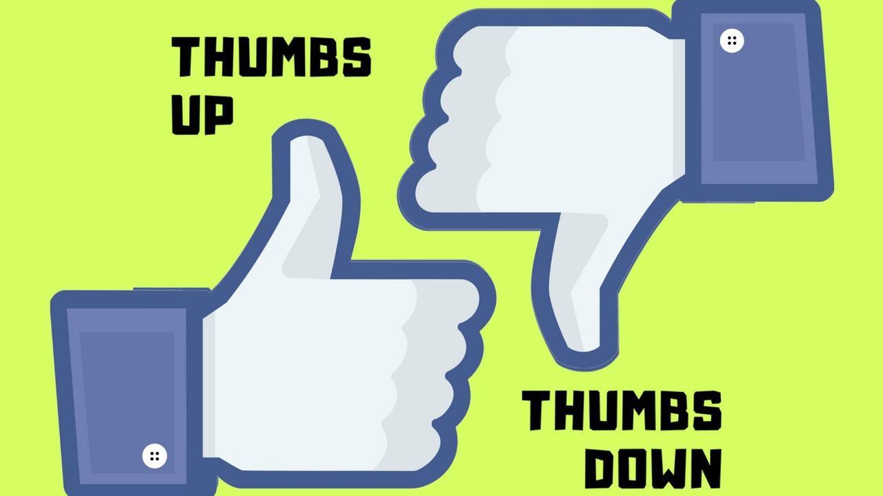 Thumbs up thumbs down