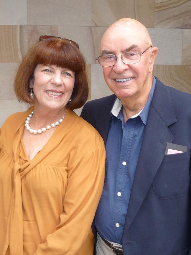 Sarah Holland-Batt's parents Jenny and Tony in 2008.