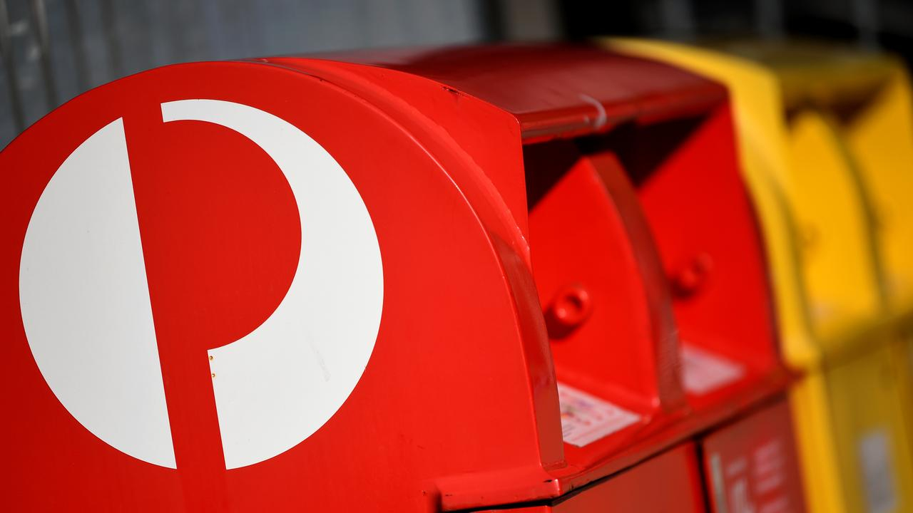 Australia Post has set a December 12 postage deadline to guarantee parcels will be delivered before Christmas Day. Picture: NCA NewsWire/Joel Carrett