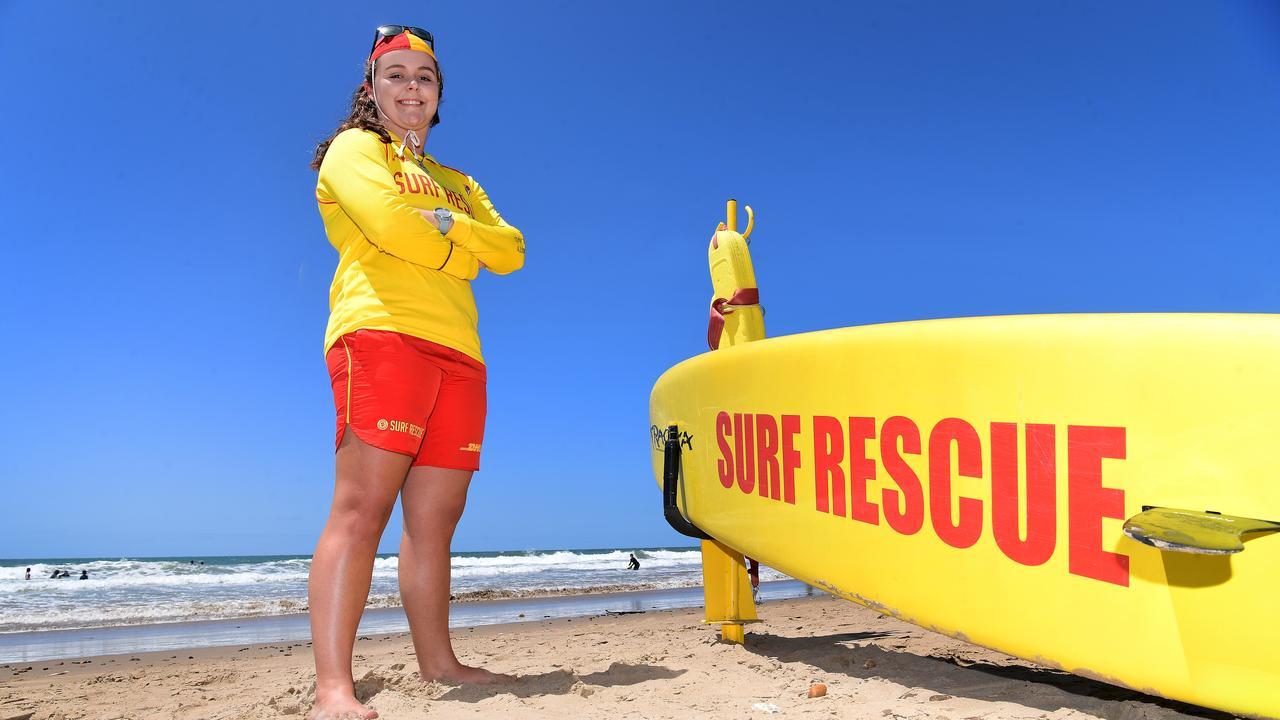 LOCAL HERO: Bundaberg Surf Life Saving ambassador Georgia Martin at Nielson Park Beach. Picture: Mike Knott