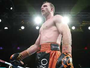 Jeff Horn reveals his boxing future during Rocky visit
