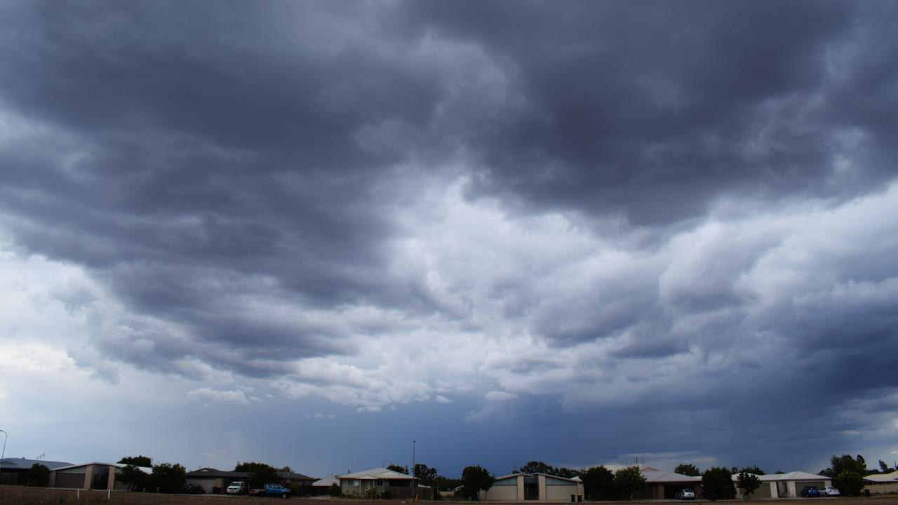INCOMING: Storm rolling across the Western Downs. Pic: Peta McEachern