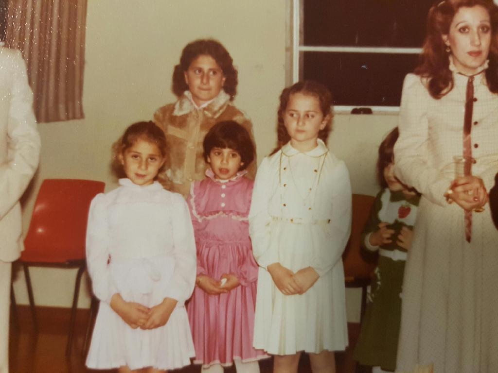 Ms Berejiklian as a child.