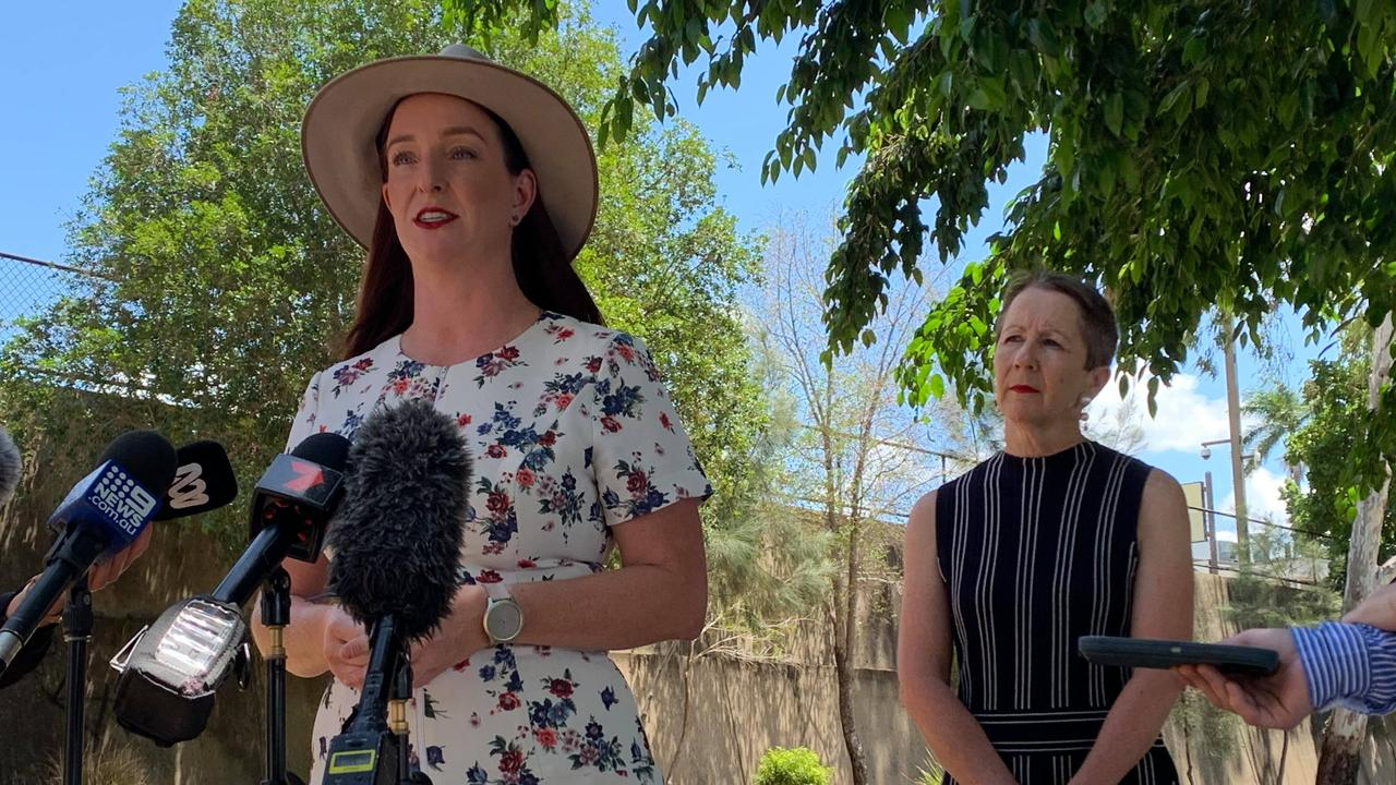 Keppel MP Brittany Lauga and Minister for Child Safety, Youth and Minister for the Prevention of Domestic and Family Violence, Di Farmer said people were seeking charity assistance this year who had never done so in the past.