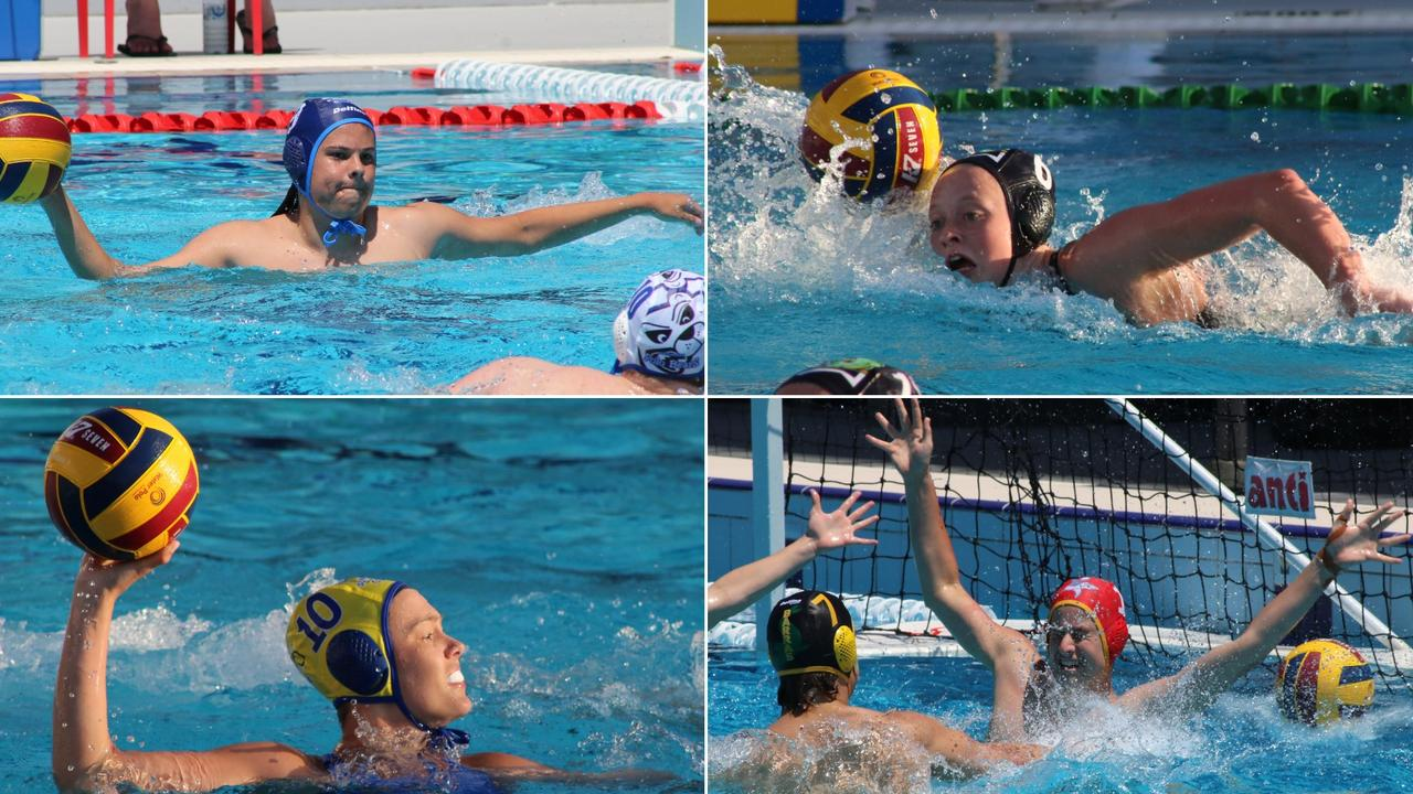 The inaugural Water Polo Queensland Premier League kicked off in Sunshine Coast waters on Sunday at St Andrew's Anglican College at Peregian Springs. Pictures: Tom Threadingham